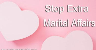 Stop Extra Marital Affairs